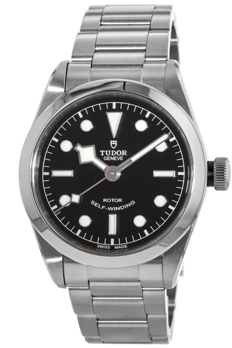 promo code 02aca 5fee8 Tudor Black Bay 36 Black Dial Stainless Steel Unisex Watch 79500-0001  79500-0007