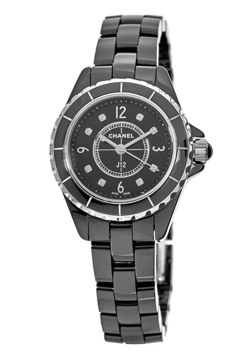 reputable site e3d82 73023 Chanel J12 Classic Women's Watch H2569