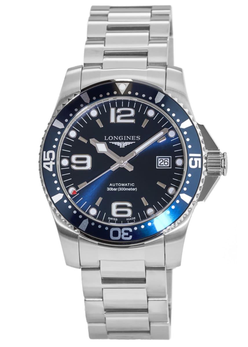 Longines Hydroconquest Automatic >> Longines Hydroconquest Automatic Men S Watch L3 642 4 96 6