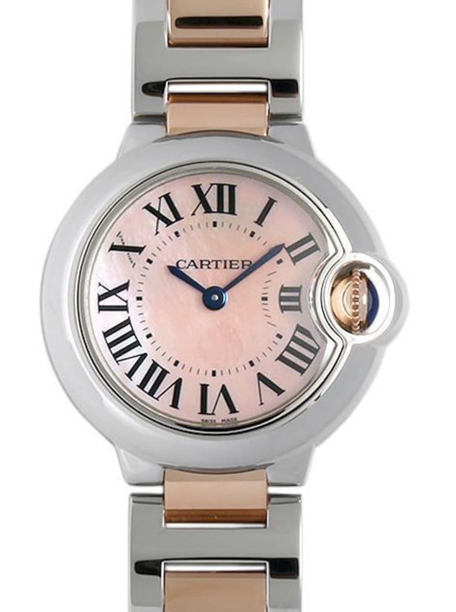 low priced 48249 ead48 Cartier Ballon Bleu 28mm Women's Watch W6920034