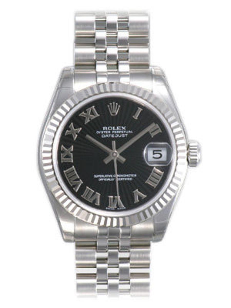 Rolex Datejust 31 Unisex Watch 178274 Bksrj
