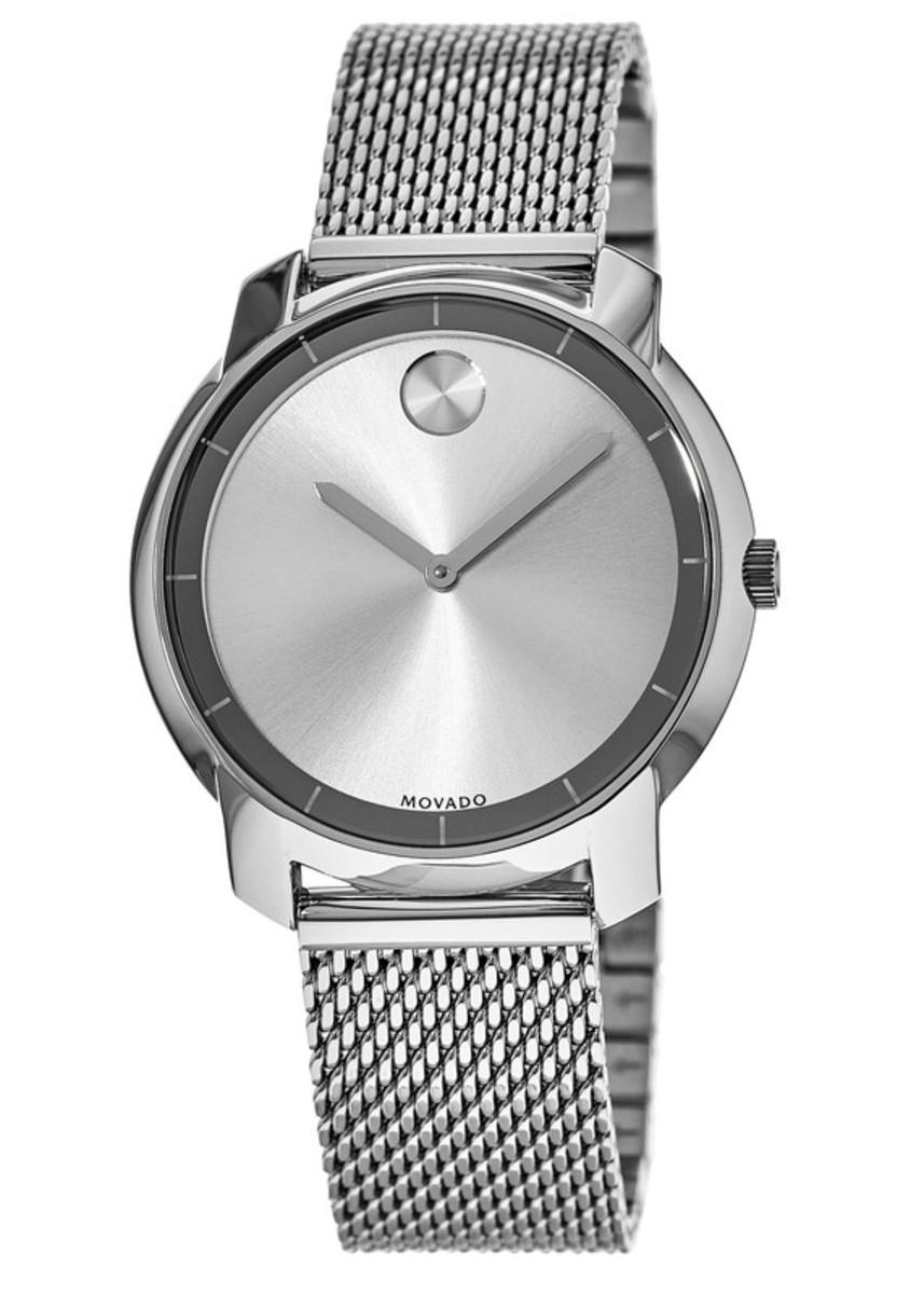 ba2c5e3122234 Movado Bold Mesh Steel Bracelet Women's Watch 3600241 | WatchMaxx.com