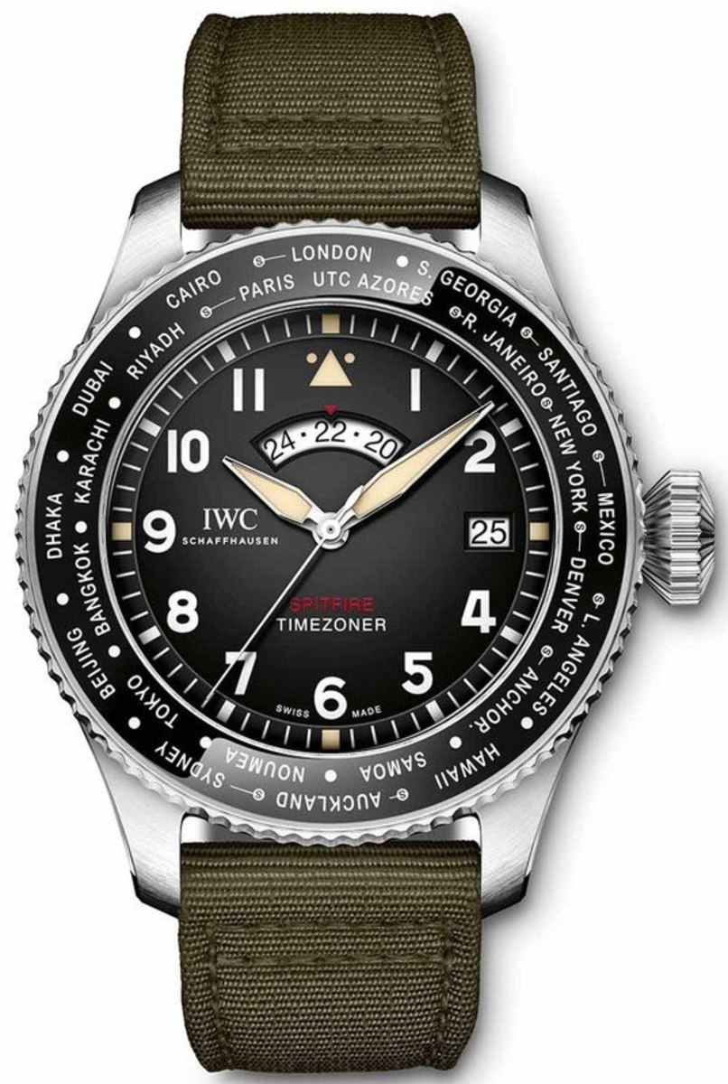 7922e33917ed Pilot s Timezoner Spitfire Edition