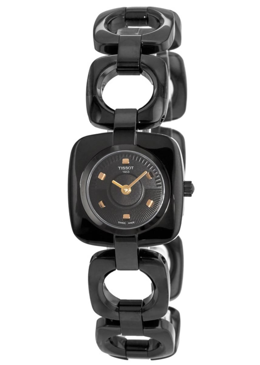 9df4db431645 Tissot T-Trend Odaci-T Black Dial Women s Watch T020.109.11.051.00 ...