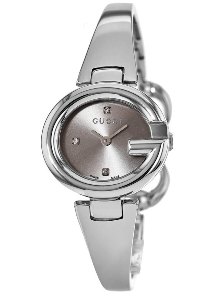 62b52baddb1 Ssima Brown Diamond Dial Stainless Steel Women s Watch