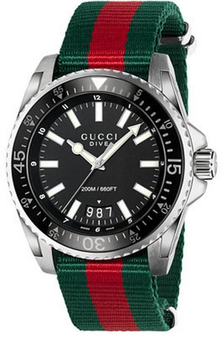 7fdbc2cc98c Gucci Dive Men s Watch YA136206