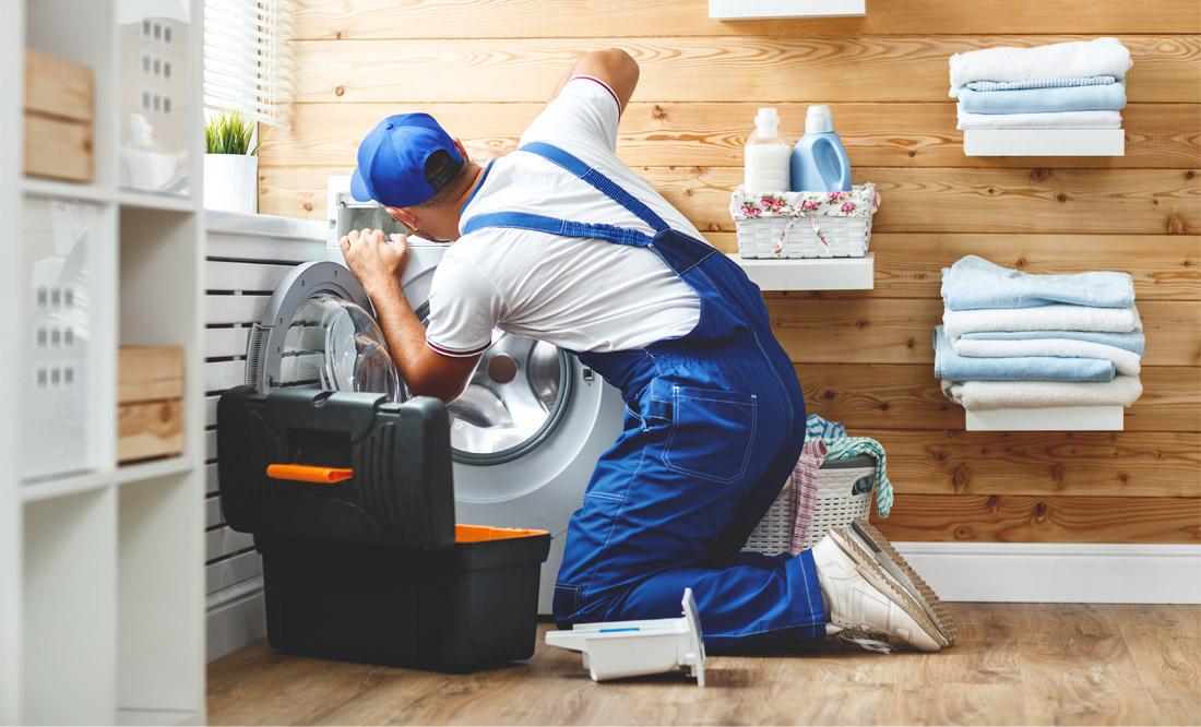 Ремонт любых неисправностей стиральных машин на дому