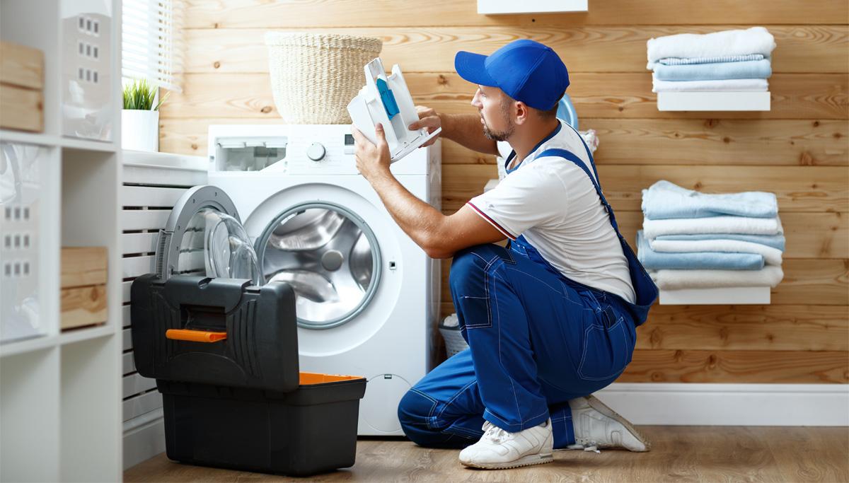 Замена расходных материалов в стиральной машины