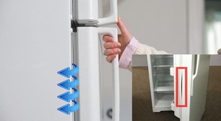 Холодильник пропускает холод сквозь щели