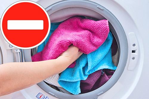 Перегрузка стиральной машин