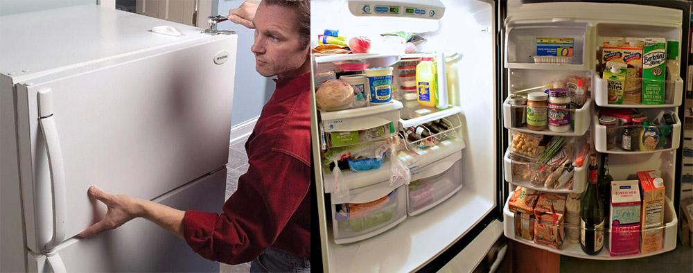 Причины того, что не закрывается дверь холодильника