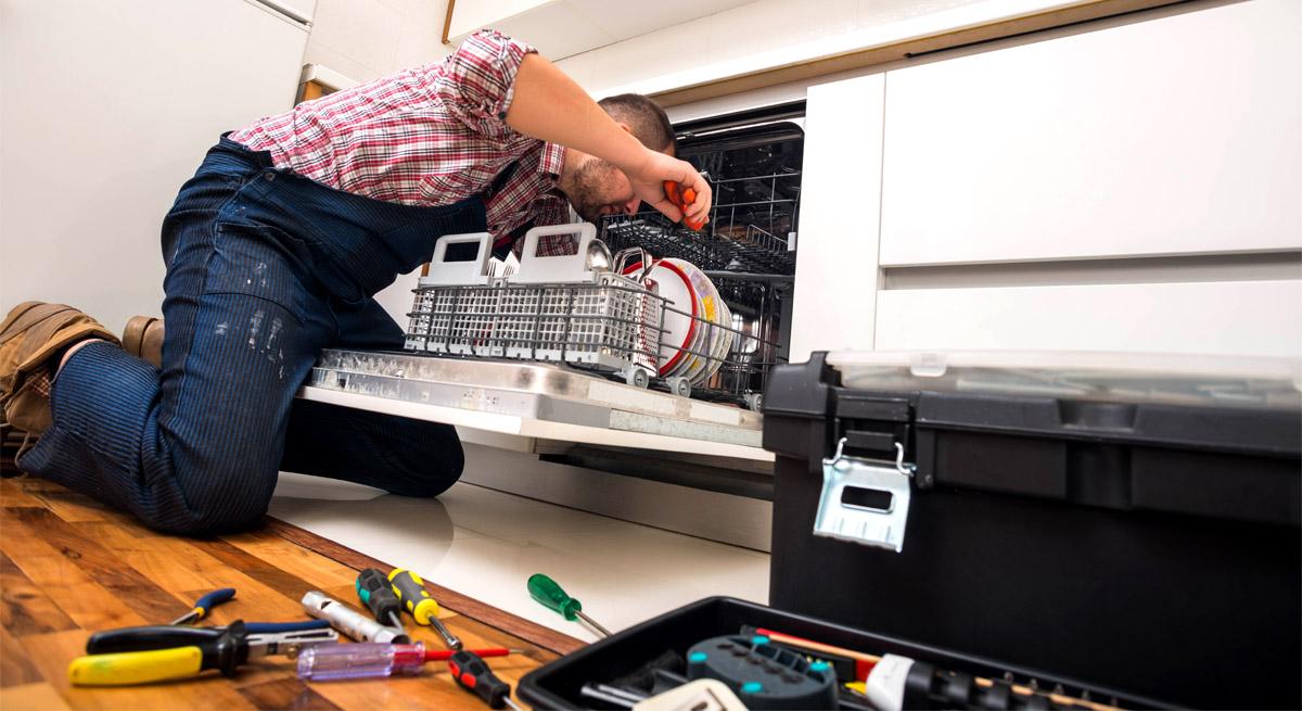 Подключение посудомоечной машины от компании Мистер Быт