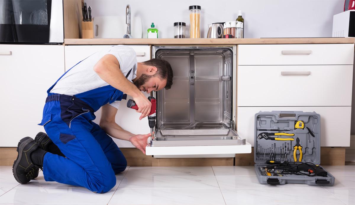Устранения проблем с миганием посудомойки