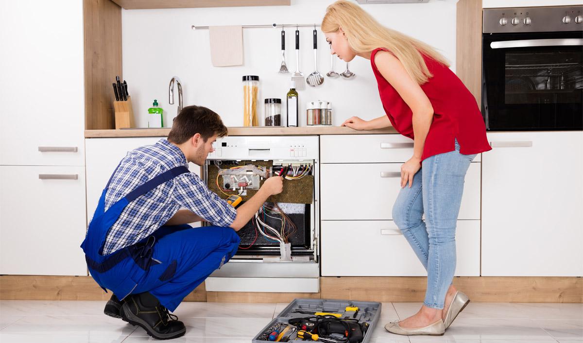 Что делать когда не горят индикаторы на панели посудомойки