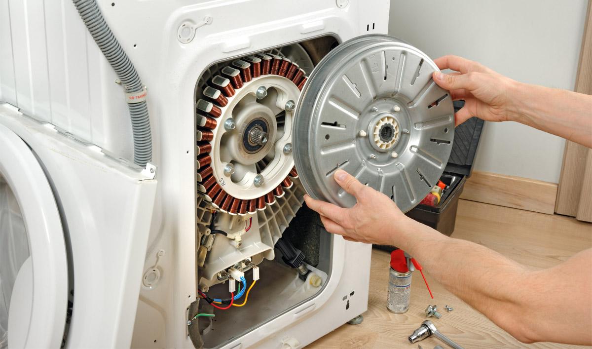 Устранение засора слива стиральной машины