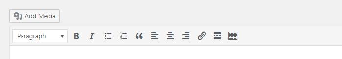 WordPress Post Editing Bar