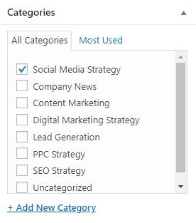 Blog Categories