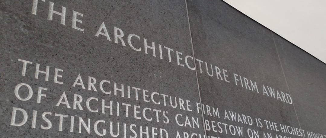 architecture firm award - aia