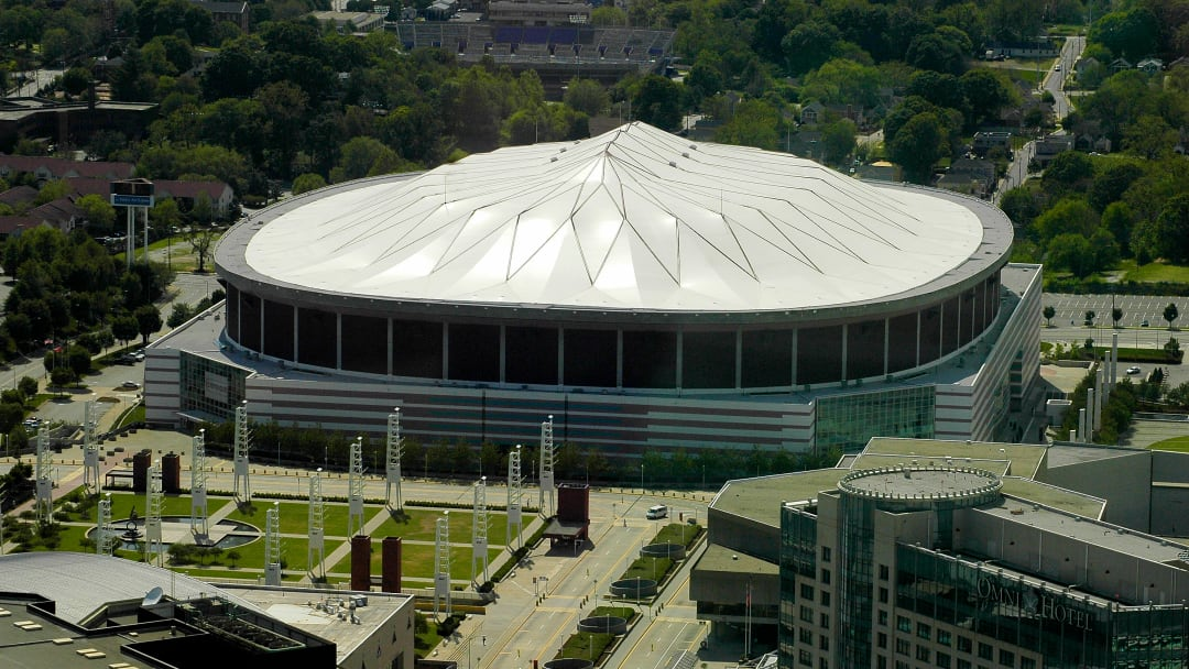 Georgia Dome by Scott Braley, FAIA