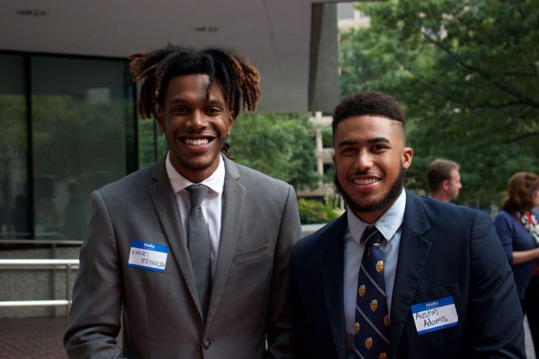 AIA NOMA reception - Syracuse students