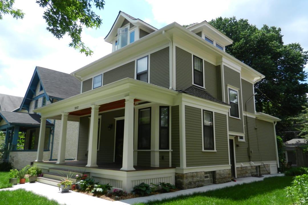 Minneapolis residential project - James Hardie