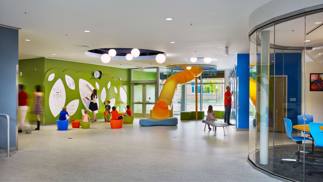 Discovery elementary school aia Top 10 interior design schools in the us