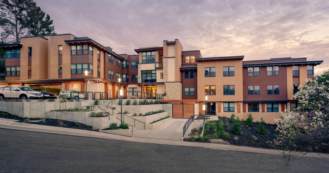 Monteverde senior apartments aia for Apartment design awards