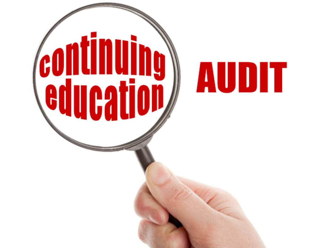 Continuing Education Audit
