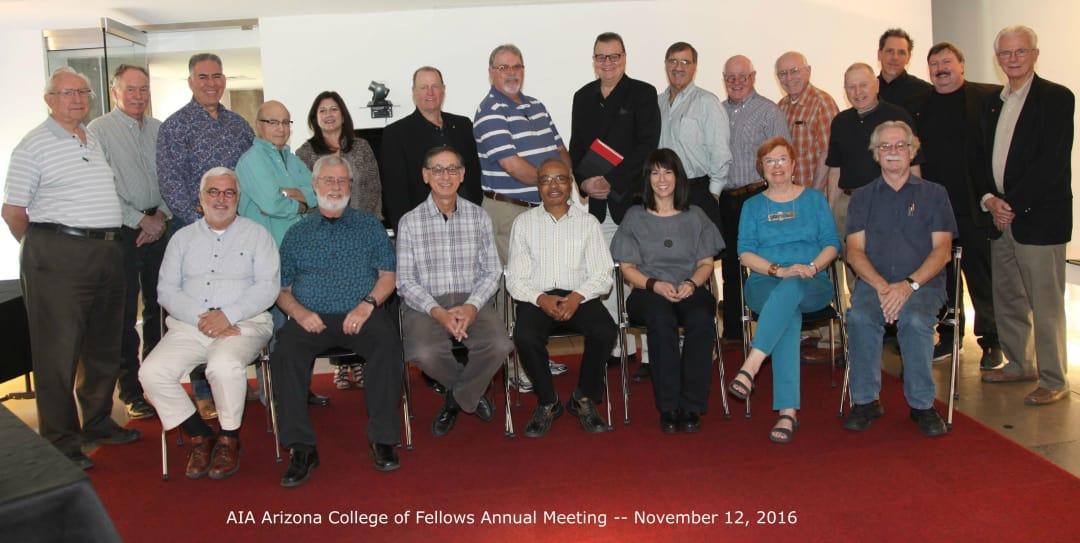 2016 AIA AZ Fellows Annual Meeting_Nov2016