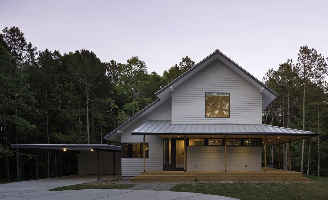 Modern farmhouse - James Hardie