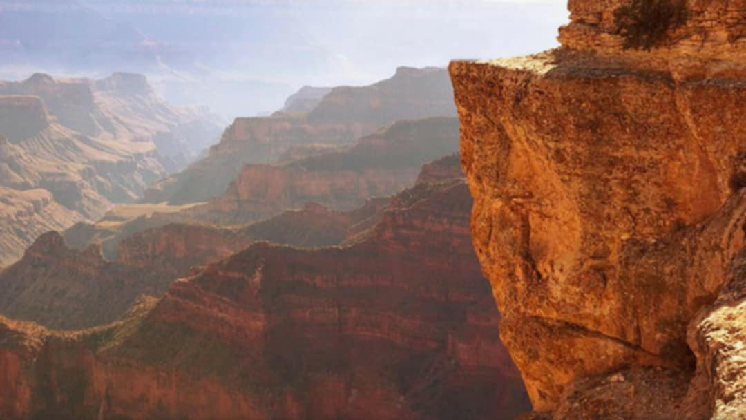 Grand Canyon Near Perspective