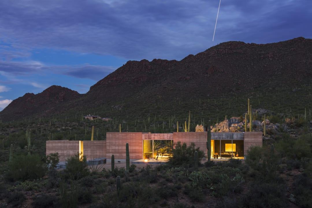 Distinguished Arch Honor Award 2018_Tucson Mtn Retreat_Dust