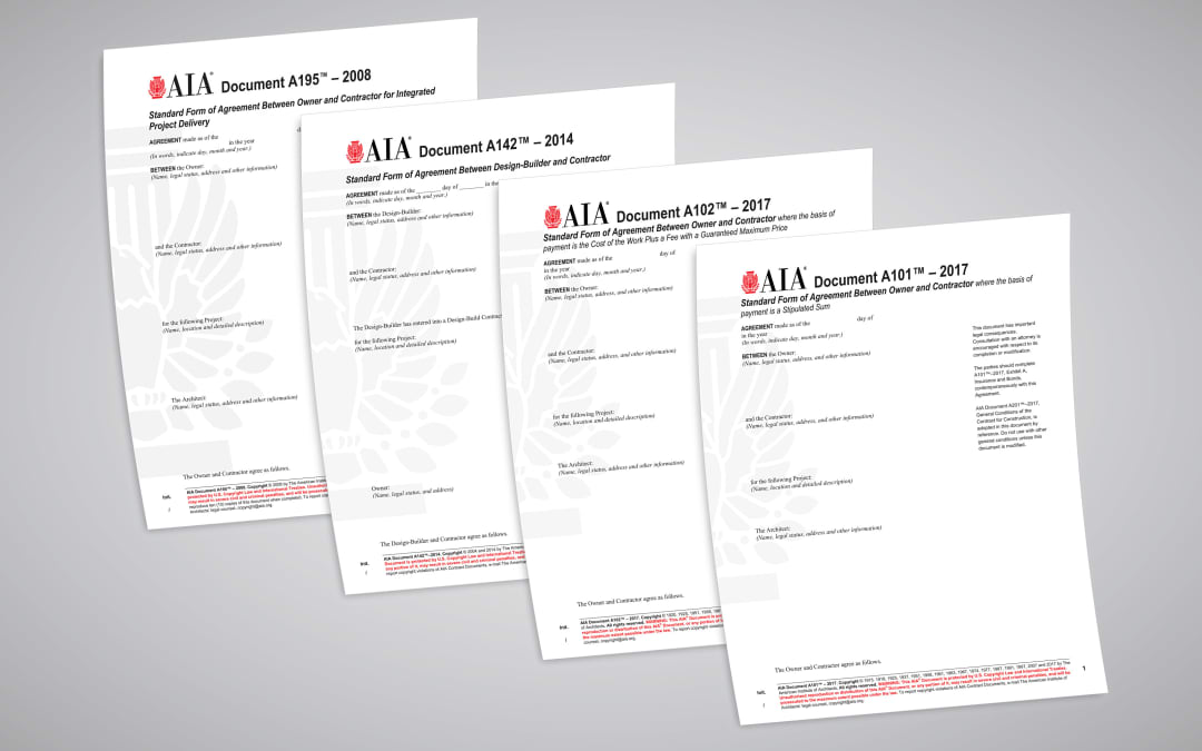 Four Common Construction Contracts You Need To Understand Aia
