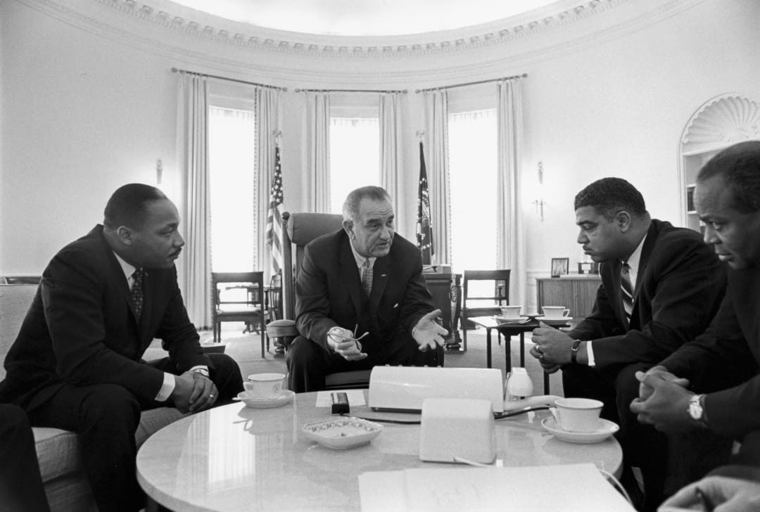 Whitney Young, MLK, LBJ