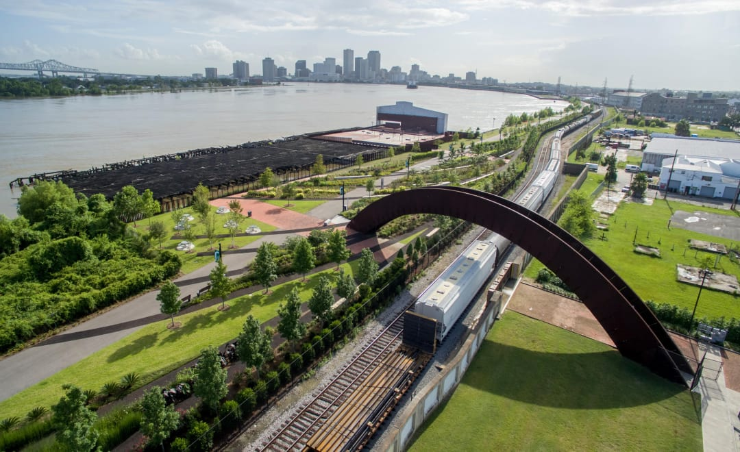 Crescent Park in New Orleans - Architectural Adventures