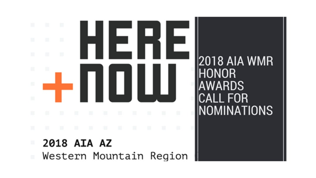 AIA WMR 2018 Honor Awards Call for Nominations