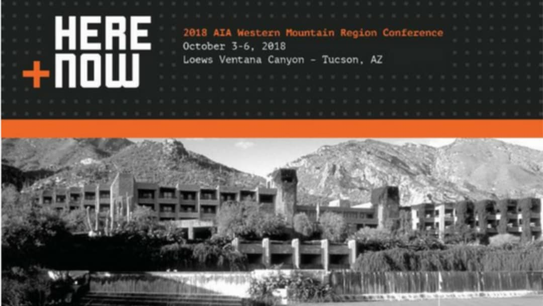 AIA WMR Conference 2018