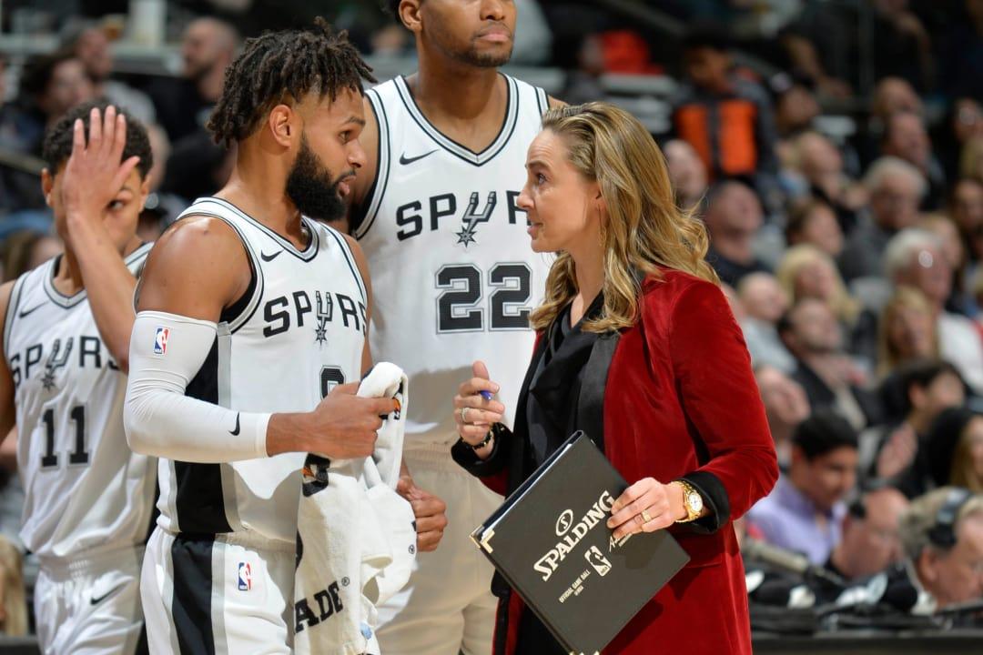 NBA Coach Becky Hammon