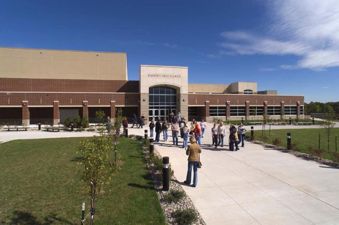 Kimberly High School, Kimberly, Wisconsin. Architect: Hoffman Planning, Design & Construction, Inc.