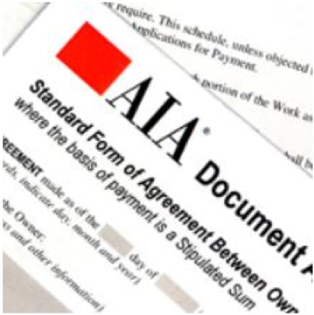 Image of Contract Document Title