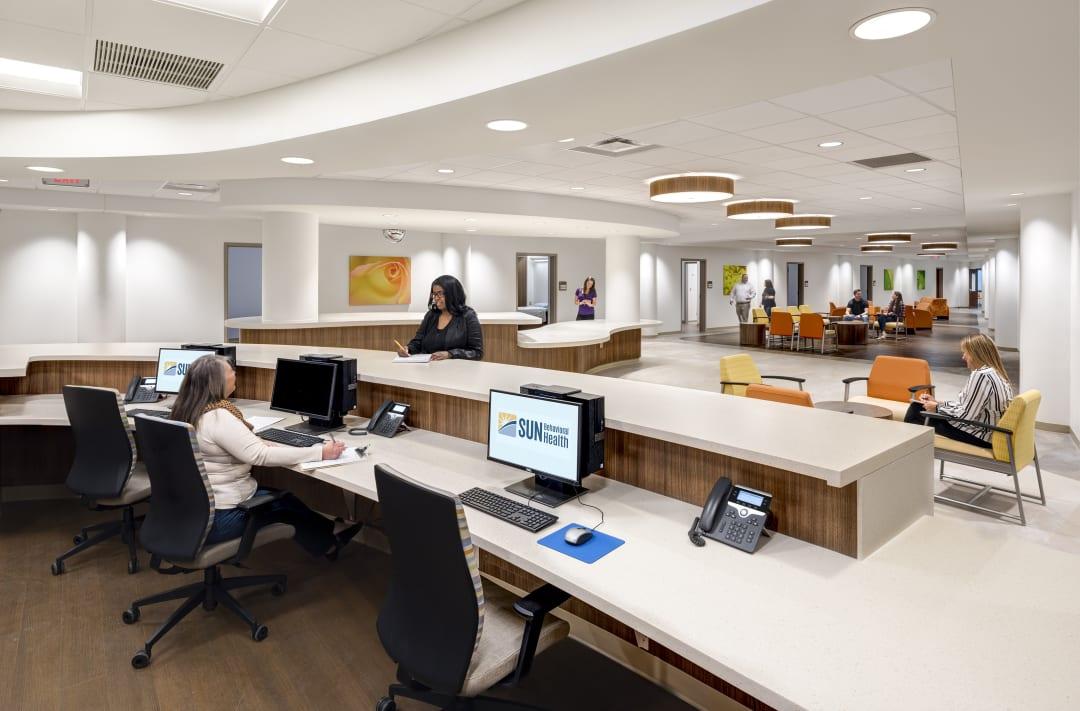 Behavioral health design - SUN hospital