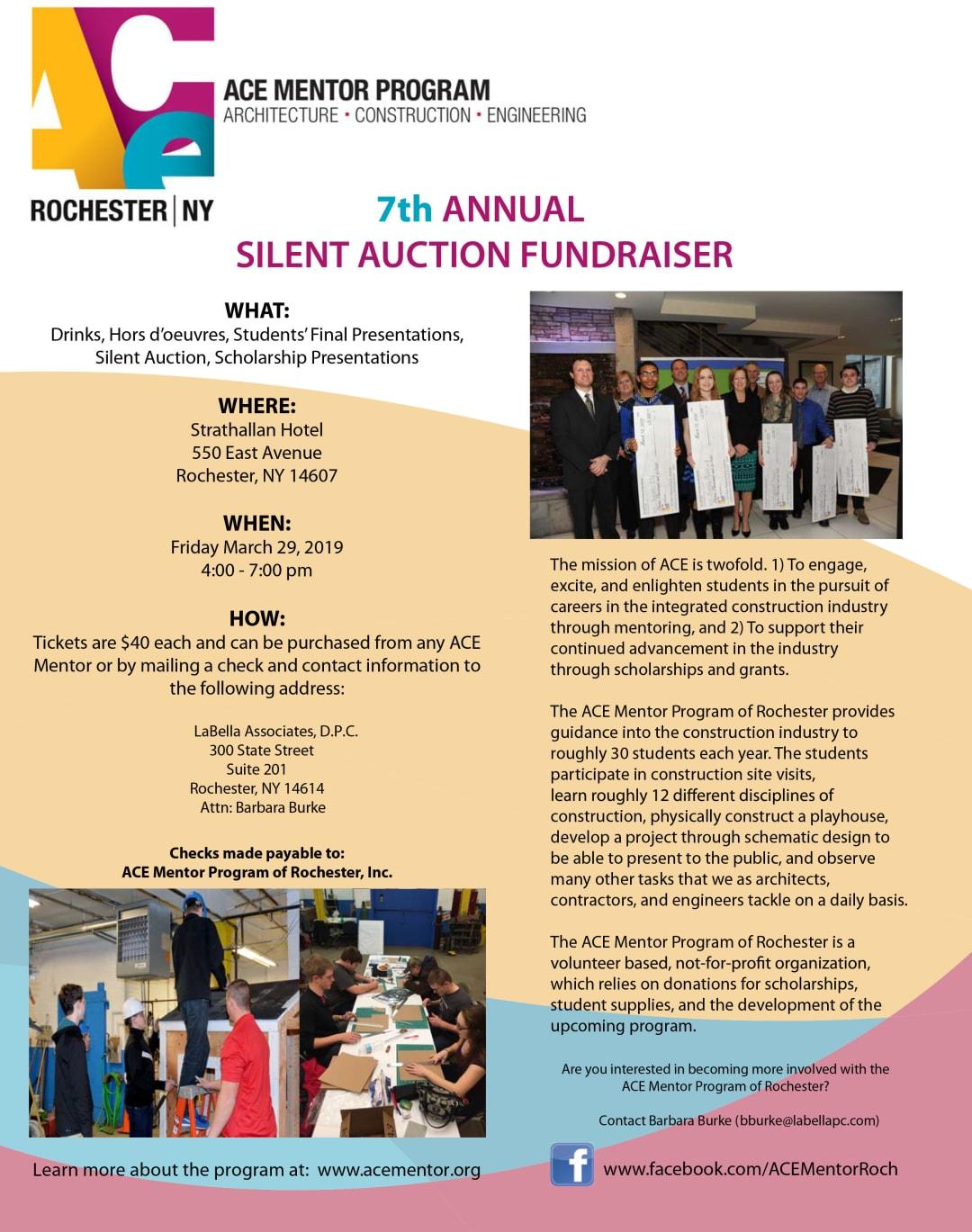 ACE Fundraiser Ticket Flyer