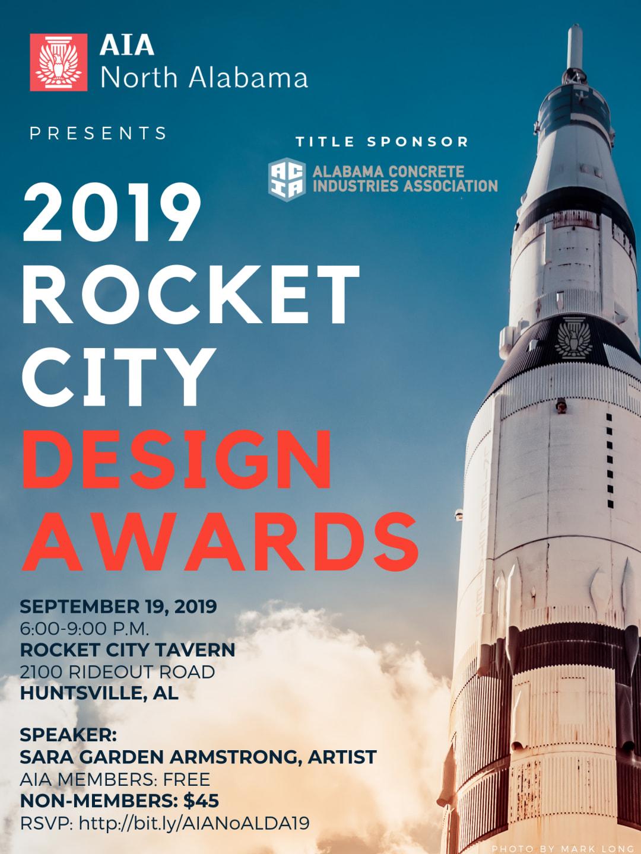2019 AIA NoAL Design Awards Invitation
