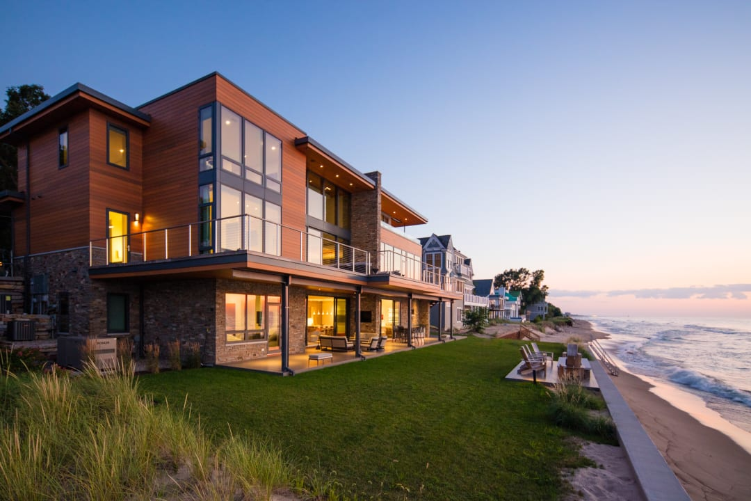 Longbeach Residence Courtesy of Lucid Architecture