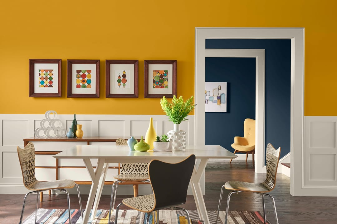 Color Trends What S In Out For, Popular Paint Colors For Dining Rooms 2020