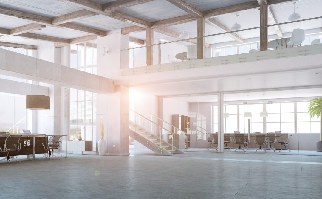 empty office shutterstock