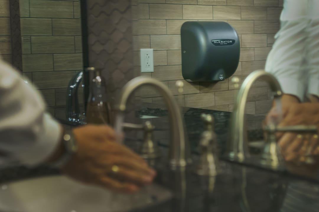 Excel Dryer, hand dryer, hand hygiene