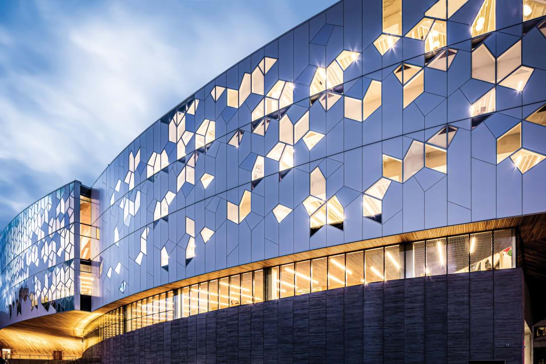Snohetta, Alpolic metal composite materials, Calgary Central Library