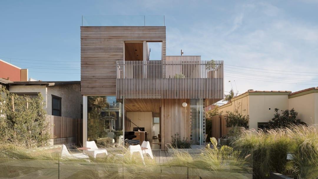 Walk-Street House,  A 2021 Housing Award Recipient, Designed by Ras-a-studio