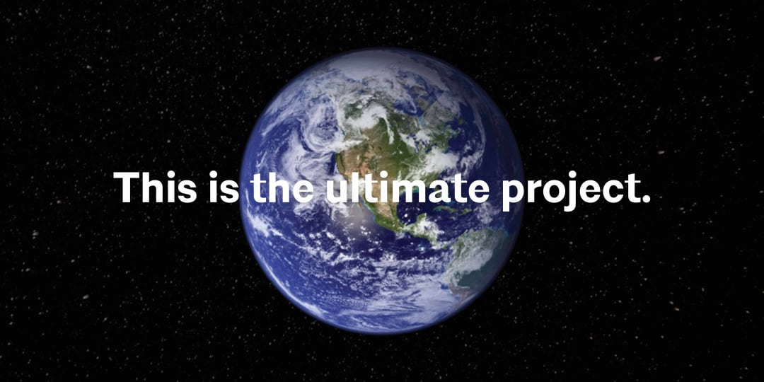 Earth is the ultimate project. These world overlay and image of the Earth from space.